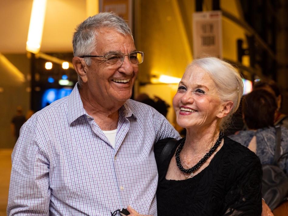 אילנה וגדעון שטאיט (צילום: מולי גולדברג)