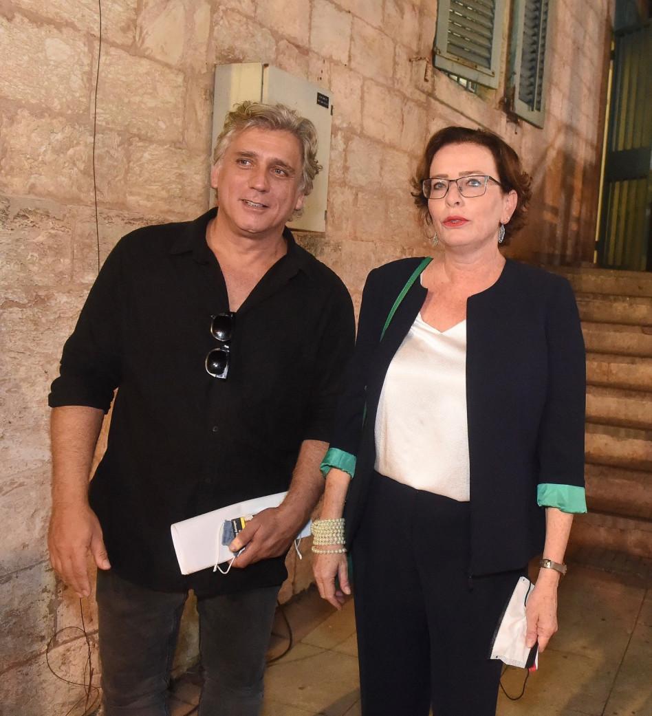 עינת קליש-רותם וליאור אשכנזי (צילום: ג'ו לוצ'יאנו)
