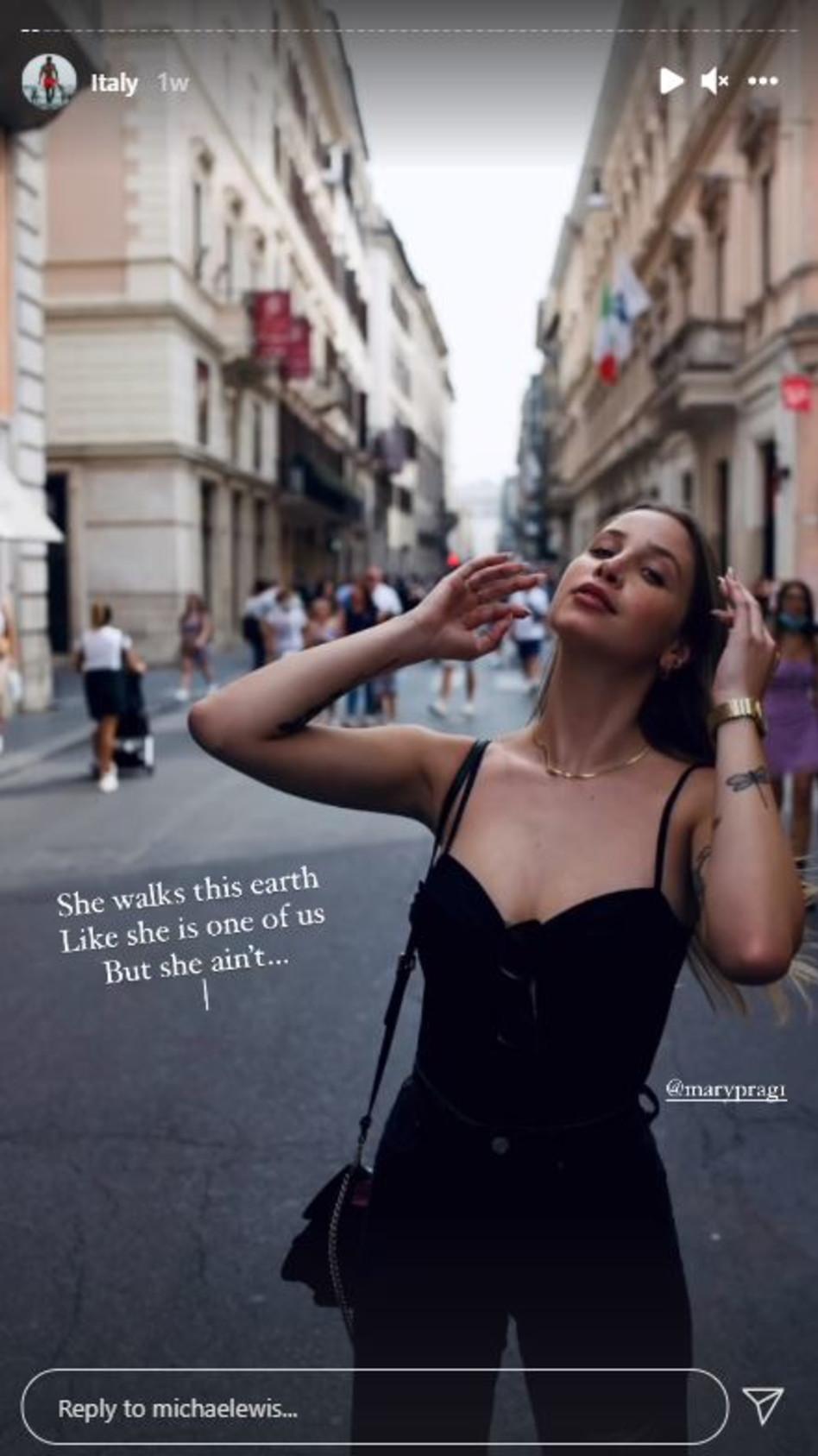 מרי פרגלין (צילום: צילום מסך אינסטגרם)