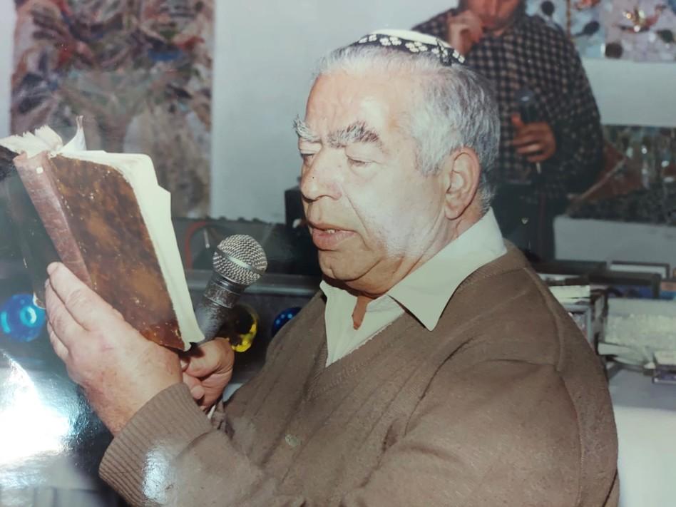 מורי אברהם ז''ל (צילום: פרטי)