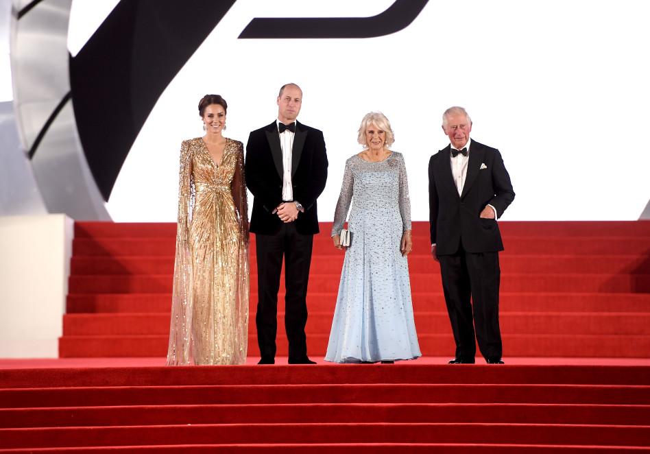 הנסיך צ'ארלס, קמילה, הנסיך וויליאם, קייט מידלטון (צילום: gettyimages, Ian Gavan)