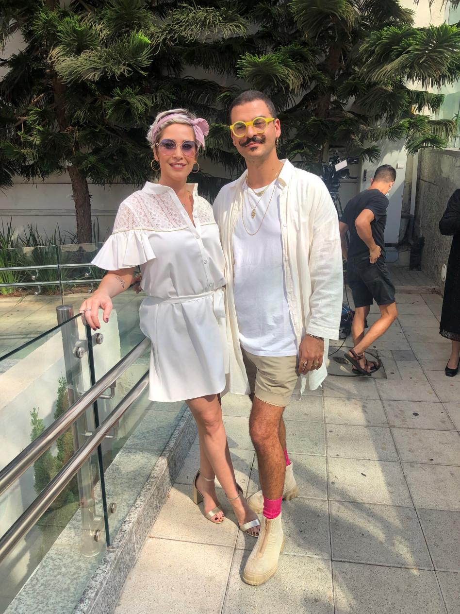 דרור קונטנטו ומירית גרינברג (צילום: יהודה יקר)