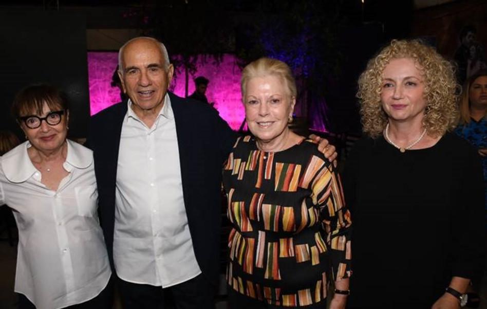 לנה קריינדלין, רותי היילפרן, ישראל מקוב ונילי זהר (צילום: אביב חופי)