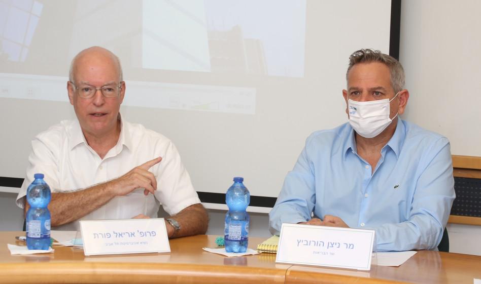 ניצן הורוביץ ואריאל פורת (צילום: עופר עמרם)