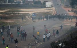 מפגינים בונצואלה