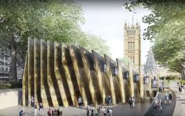 האנדרטה לזכר השואה בלונדון