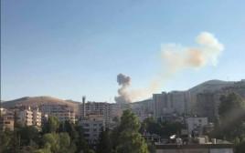 פיצוצים בדמשק