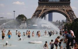 גל חום בפריז