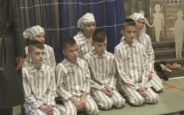 ההצגה על השואה בבית הספר הפולני