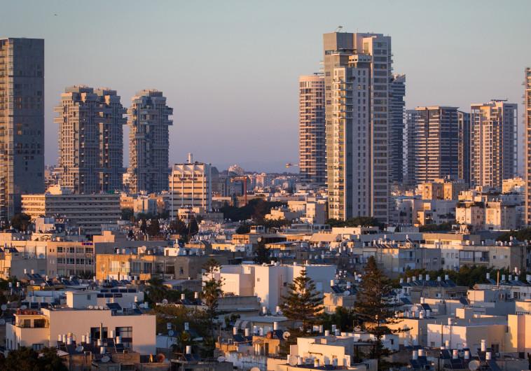 """נדל""""ן בתל אביב. צילום: מרים אלסטר, פלאש 90"""