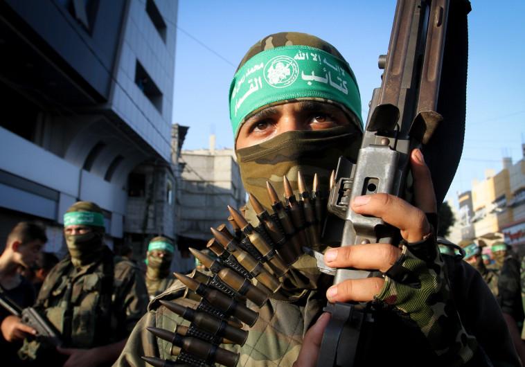 תפורק, אך לא מיד. הזרוע הצבאית של החמאס, צילום: עבד אל רחים חטיב, פלאש 90