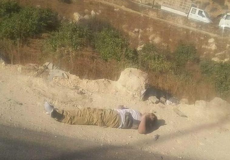 חיסול המחבל מניסיון הפיגוע ליד בני נעים, חברון. צילום: ללא קרדיט