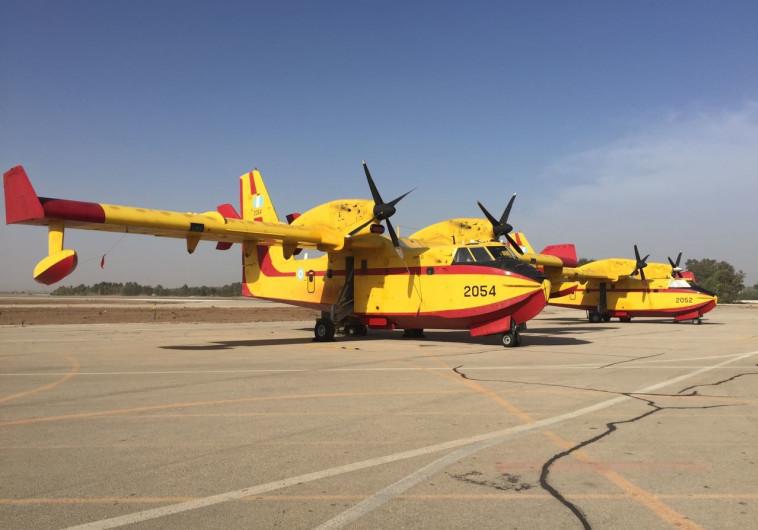 מטוסי כיבוי מיוון. צילום: ללא קרדיט