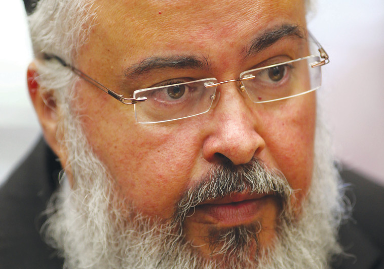 החשוד העיקרי: ראש המועצה עזרא גרשי, צילום: קובי גדעון, פלאש 90