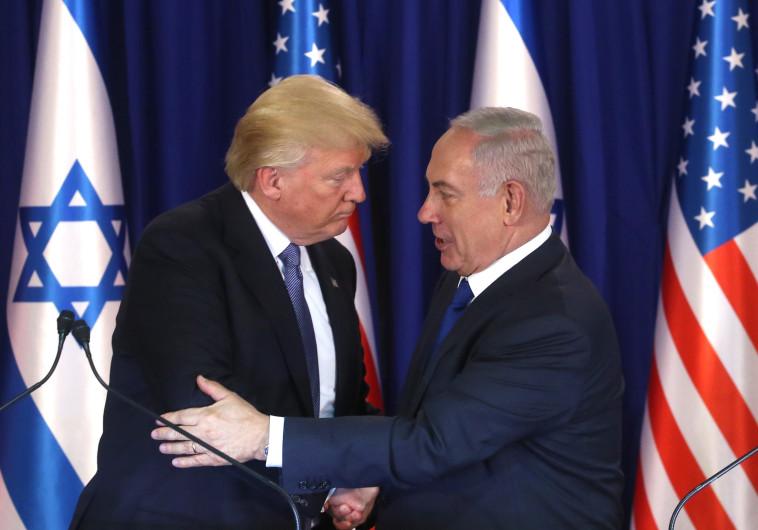 תוכנית לא מאוזנת? דונלד טראמפ ונתניהו, צילום: מרק ישראל סלם