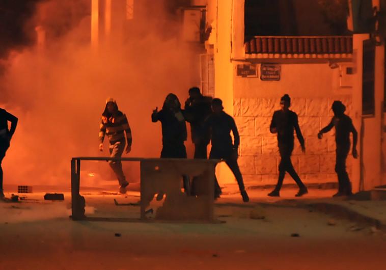 הפגנות בטוניסיה