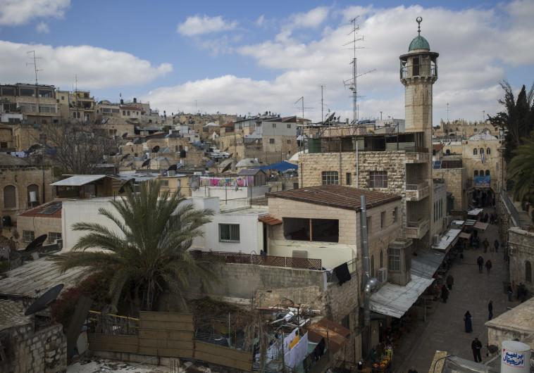 מסגד בעיר העתיקה בירושלים. צילום: יונתן זינדל, פלאש 90