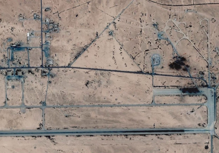 הבסיס הסורי T4 שהותקף