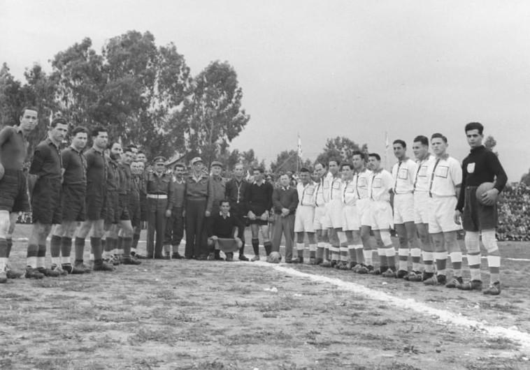 """משחק כדורגל על גביע הרמטכ""""ל בשנת 1952"""