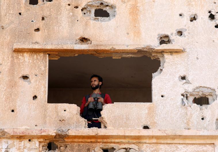 עמדת צבא סוריה החופשית בדרעא. צילום: רויטרס