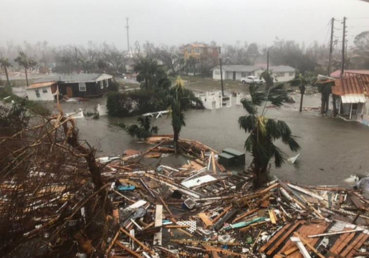 הוריקן מייקל בפלורידה