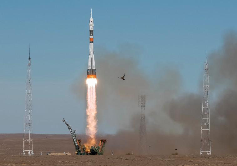 """שיגור חללית ה""""סויוז"""""""