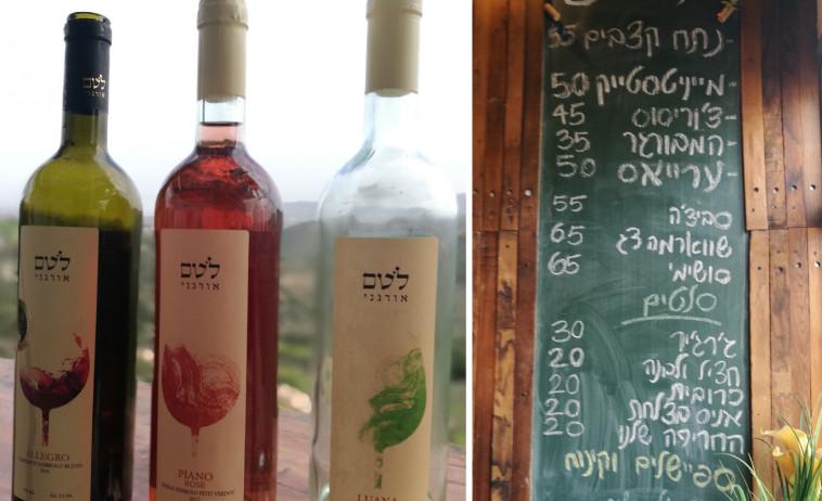 יקב לוטם- אוכל משובח ויין אורגני מדהים