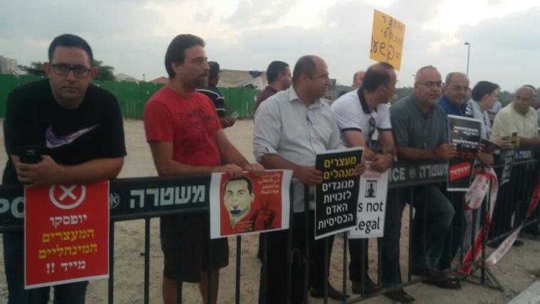 הפגנה למען בילאל כאיד. צילום: עקיל זיאדנה