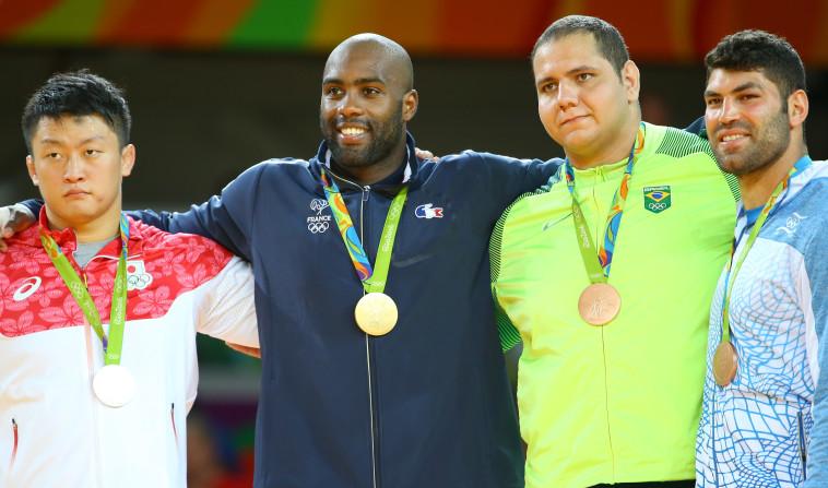 הזוכים במדליות, צילום: Getty Images