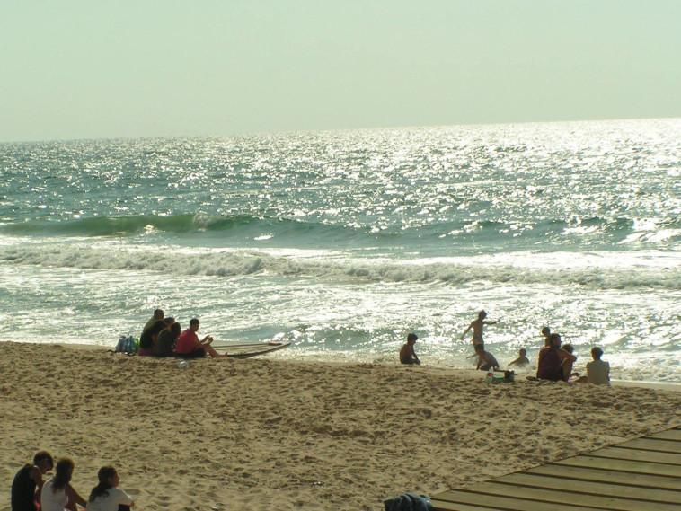 חוף הים בגוש קטיף. צילום: מתניה אליקים