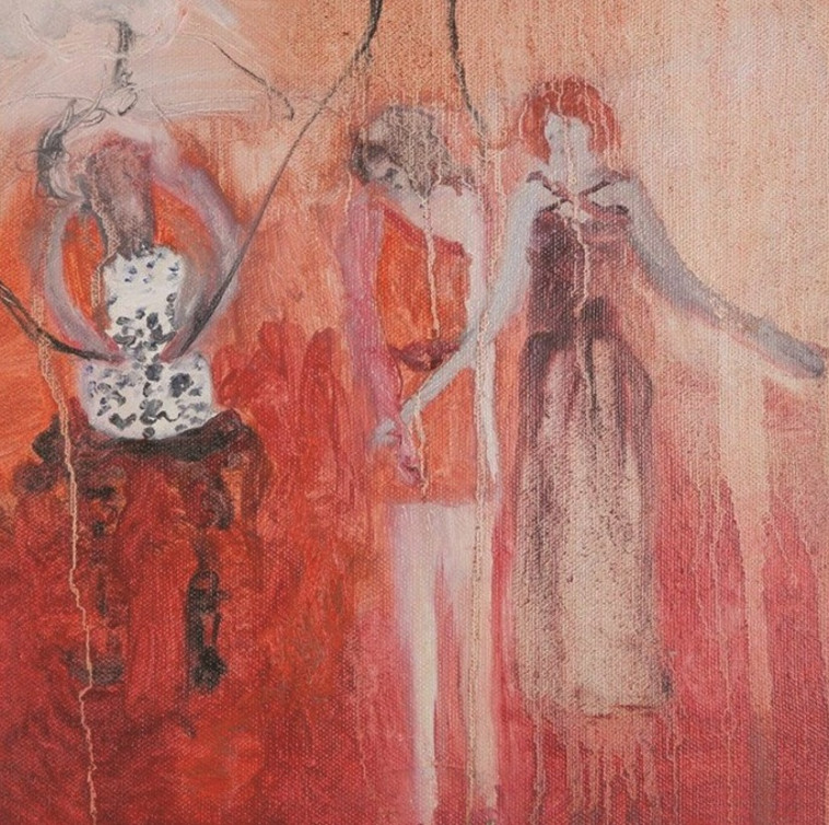 """""""אני חיה ונושמת את העבודות שלי"""". יצירה של איילת ריזה"""
