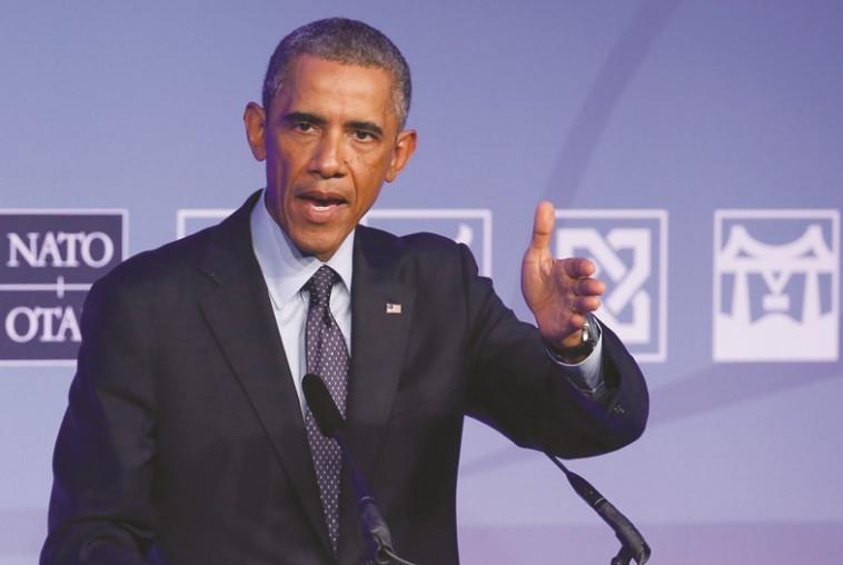 """""""היה נעול נגדנו מהרגע הראשון"""". הנשיא אובמה. צילום: רויטרס."""