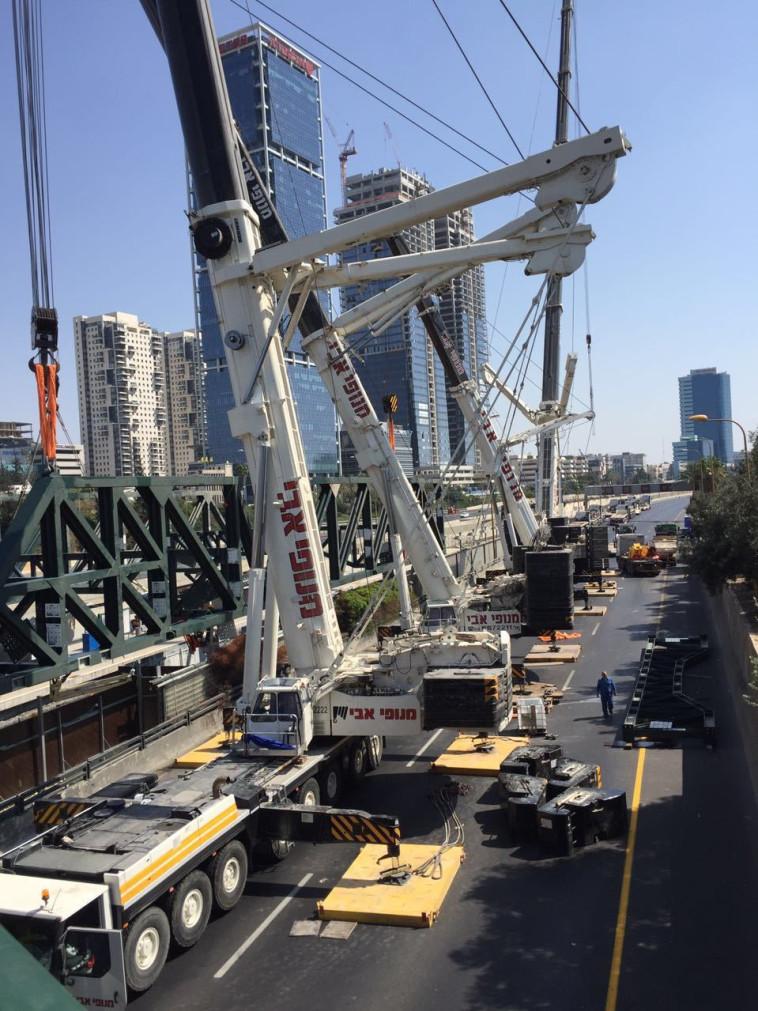 העבודות הרגישות. צילום: רכבת ישראל