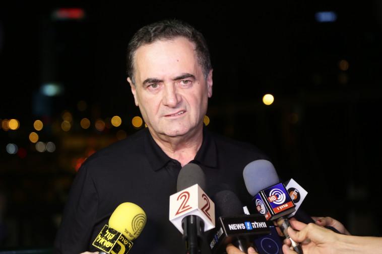 """""""לא נכנעתי ללחצים"""", ישראל כץ הערב. צילום: אלוני מור"""