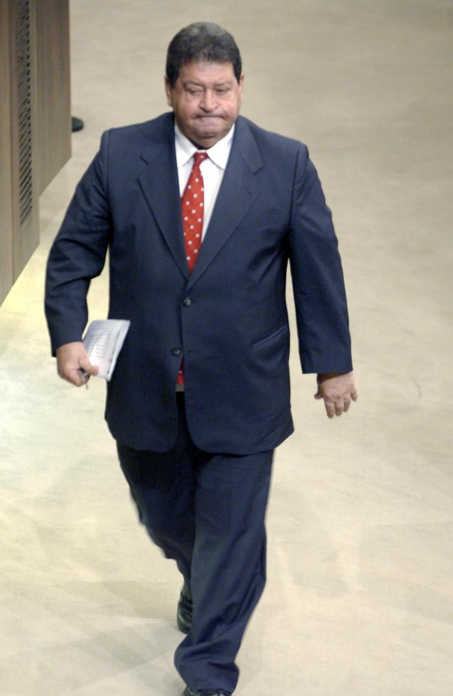 """בנימין (פואד) בן אליעזר כשהיה יו""""ר מפלגת העבודה. צילום: עמוס בן גרשון, לע""""מ"""