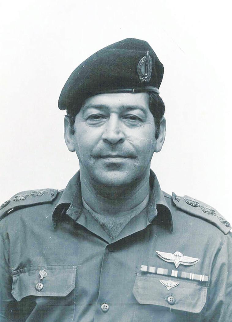 """פואד בהיותו מפקד בצבא. צילום: דובר צה""""ל"""