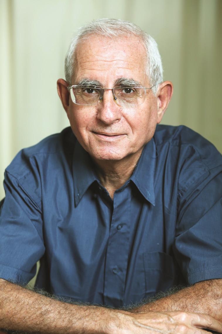 """ד''ר אבשלום אדרת, יו''ר עמותת """"בשביל החיים"""". צילום: אריאל בשור"""