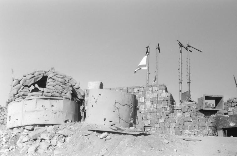 """מוצב החרמון, אוקטובר 1973. צילום: לע""""מ"""