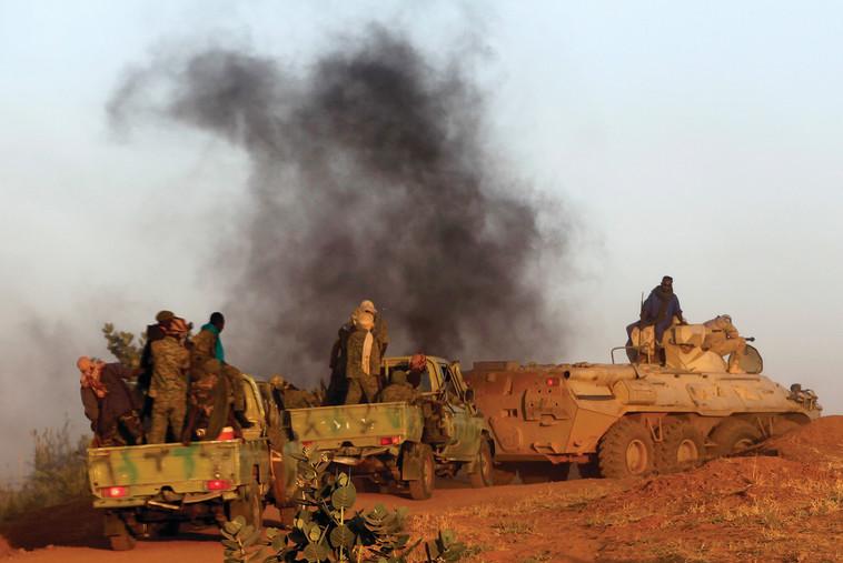 החמירה את הפגיעה באזרחי המדינה. המלחמה בדארפור. צילום: רויטרס