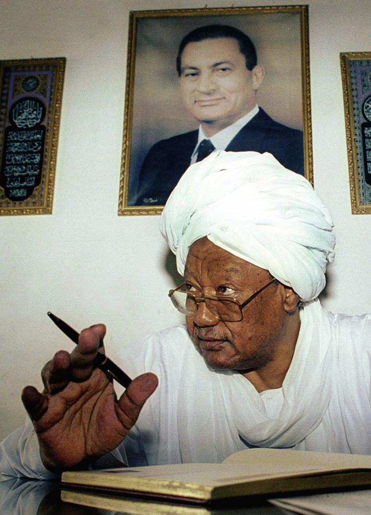 תמך בהסכם השלום בין ישראל למצרים נשיא סודן לשעבר ג'עפר נומיירי. צילום: רויטרס
