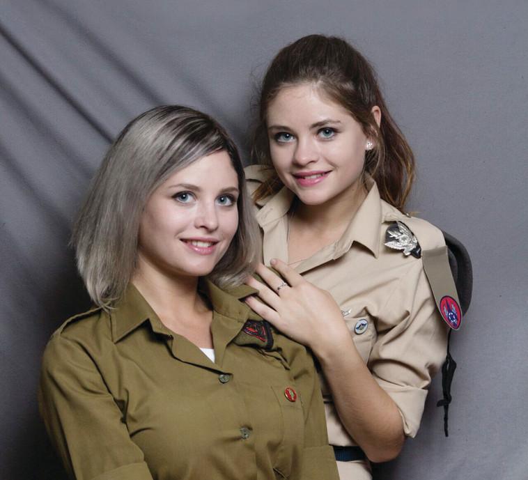 האחיות נטשה ומריה ראדו. צילום: אלכס שטרק
