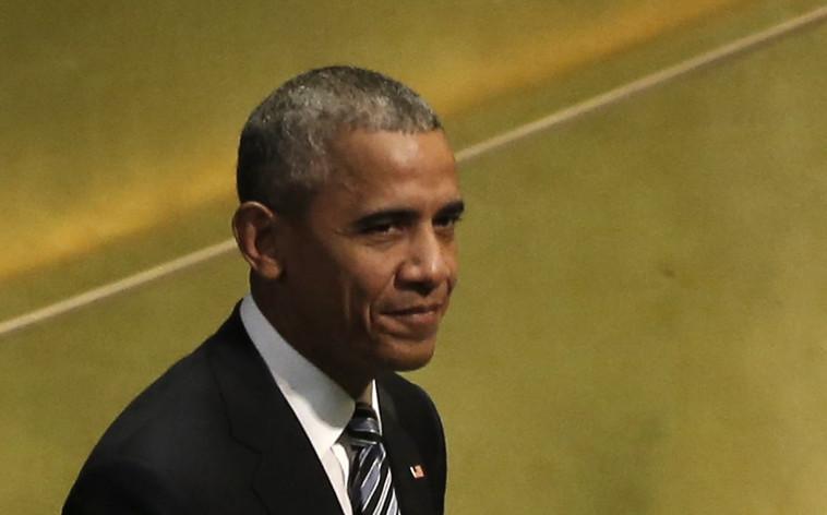 """ברק אובמה בעצרת הכללית של האו""""ם. צילום: רויטרס"""