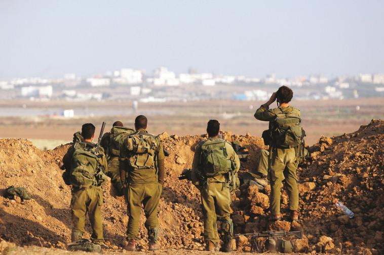 חיילים במהלך מבצע צוק איתן. צילום: רויטרס