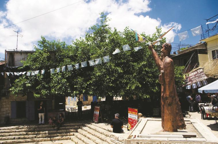 בית הכנסת העתיק בפקיעין. צילום: מיטל שרעבי