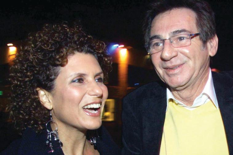 גלעדי עם אסנת וישינסקי. צילום: אמיר מאירי