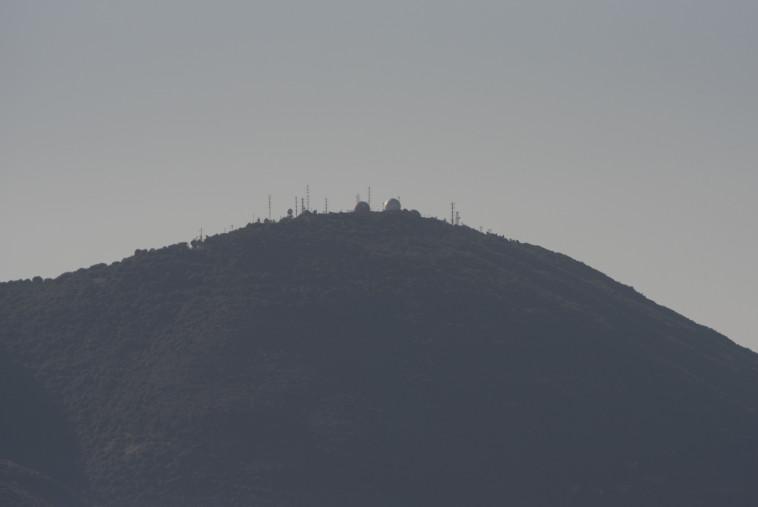 """בסיס ההגנה האווירית בהר מירון. צילום: דובר צה""""ל"""