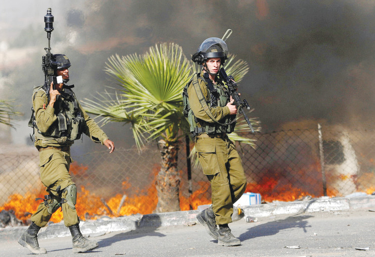 מהומות במזרח ירושלים. צילום: רויטרס