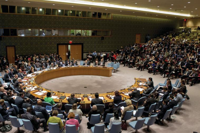 """מועצת הביטחון של האו""""ם, ארכיון. צילום: רויטרס"""