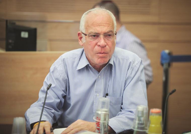שר החקלאות אורי אריאל. צילום: יצחק הררי, פלאש 90