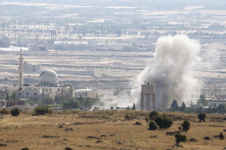בכל פעם שחשבנו שהלחימה תסתיים, היא שוב התלקחה. המלחמה בסוריה מהצד הישראלי. צילום: רויטרס